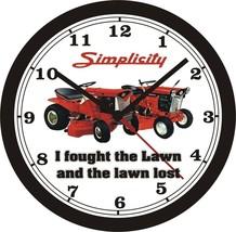 Simplicity Lawn Tractor Wall CLOCK-Choose 1 Of 8, John Deere, Cub Cadet - $28.70+