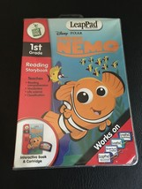 LEAPPAD DISNEY FINDING NEMO 1st GRADE INTERACTIVE READING STORYBOOK &  C... - $9.70
