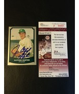 1989 PACIFIC #16 JIM CATFISH HUNTER AUTOGRAPH AUTO OAKLAND A'S SIGNED JS... - $48.26