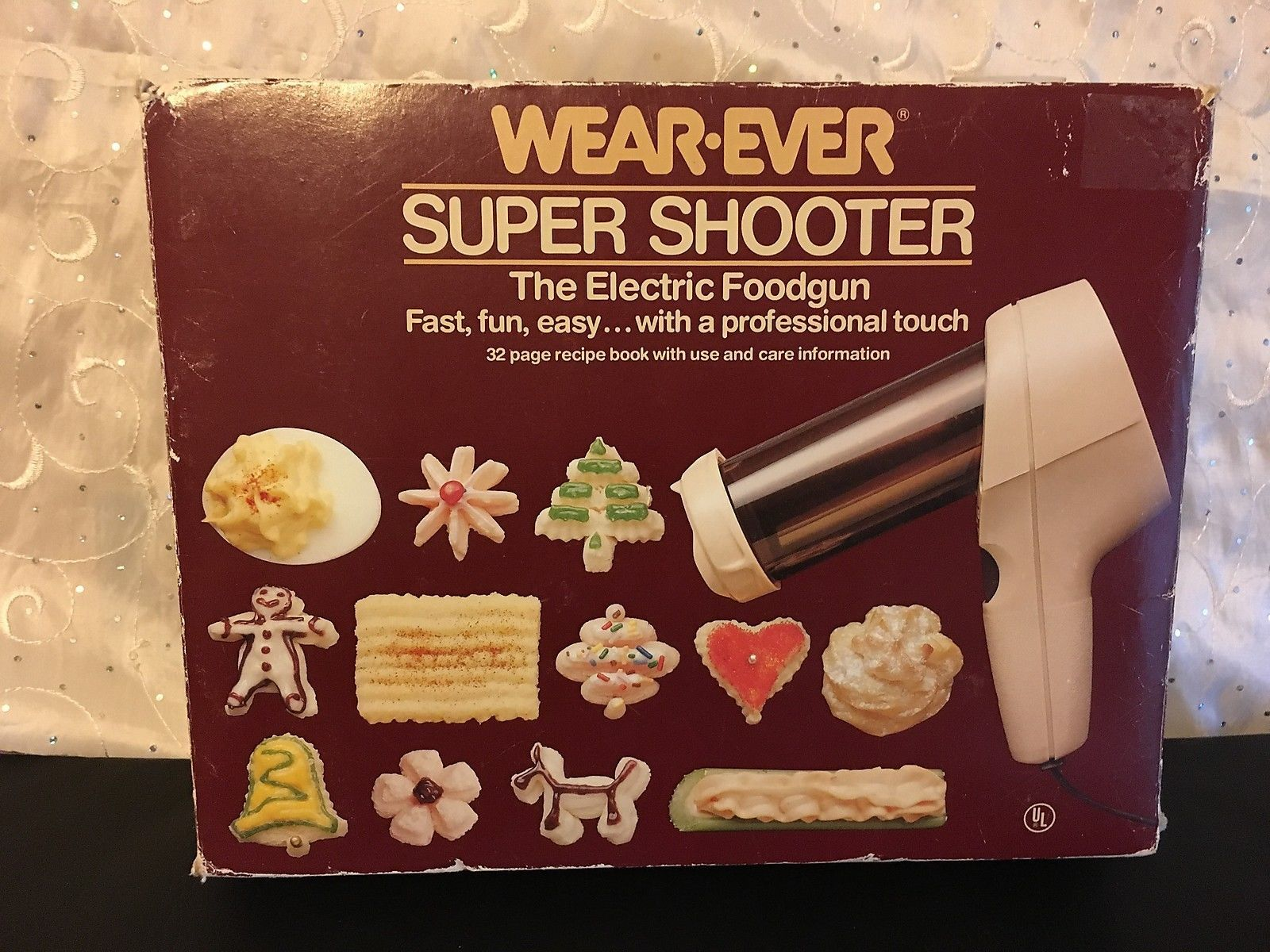vintage wear ever super shooter the electric food gun. Black Bedroom Furniture Sets. Home Design Ideas