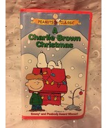 A CHARLIE BROWN CHRISTMAS VHS TAPE VIDEO PEANUTS CLASSIC - $8.75
