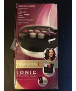 Remington Ionic Protection Ceramic Hot Rollers Cool Touch Ends H-5600 - $32.95