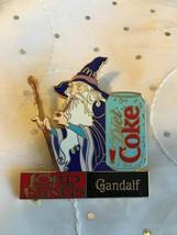 Lotr Lord Of The Rings Mcdonalds Diet Coke Gandalf Pin Purple Ltd Edition 250 - $91.85