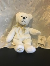 HOLY BEARS SACRAMENT SERIES PLUSH BEAR WITH HOLY BIBLE TAG - $7.80
