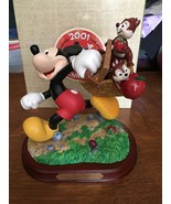 2001 DISNEYANA CONVENTION PICNIC TIME FIGURINE MICKEY MOUSE CHIP 'N DALE... - $192.54