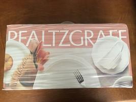 Pfaltzgraff 20 Pc White Heritage Dinnerware Set Plate Salad Bowl Cup Saucer - $96.53