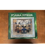 1994  LIGHTED STAINED GLASS FORMA VITRUM THOMPSON'S DRUG STORE #11302 LE... - $192.36