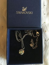 Swarovski Points Of Light Pendant & Chain Necklace Crystal Jewelry - 095... - $68.95