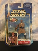STAR WARS ATTACK OF THE CLONES MACE WINDU GEONO... - $10.65