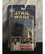 Star Wars Attack Of The Clones Anakin Skywalker Outland Peasant Disguis... - $10.95