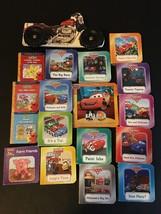 DISNEY PIXAR CARS BOOK LOT OF 18  LIGHTNING MCQUEEN CHILDREN'S EARLY READERS - $24.14