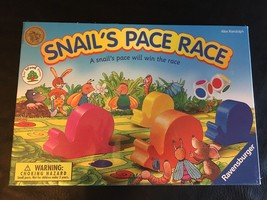 Snail's Pace Race Ravensburger Children's Wooden Board Game - $24.95