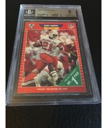 1989 PRO SET # 494 BARRY SANDERS RC BGS 9 (9 9 9 9.5) MINT - $12.55