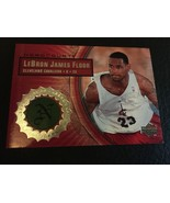 2003-04 UPPER DECK HARDCOURT LEBRON JAMES RC GAME USED FLOOR CAVS #LB6 ROOKIE MT - $19.30