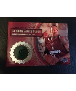 2003-04 UPPER DECK HARDCOURT LEBRON JAMES RC GAME USED FLOOR CAVS #LB5 ROOKIE MT - $19.30