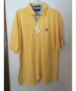 Tommy Hilfiger Golf Men's Large Yellow Bellsouth Classic Polo Shirt Medium - $28.98
