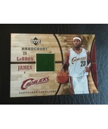 2006-07 UPPER DECK HARDCOURT LEBRON JAMES GAME USED FLOOR CAVALIERS #GF-17 - $12.55