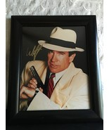 Warren Beatty Dick Tracy 8X10 Signed Photo Autograph Auto Framed - $99.95