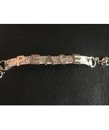 Juicy Couture Peace Bracelet Silverstone Glitter YJRU4457 - $53.95