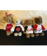 BOYDS COCA COLA ORNAMENT SET 4 ORNAMENTS NEW WITH TAGS CHRISTMAS - $24.14