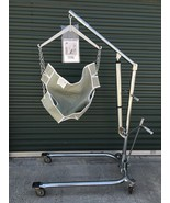 Hoyer Classic Hydraulic Patient Lift Extended Reach C-HLA W/ Chains & Sling - $945.00