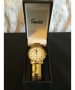 Speidel Watches Men's 60331632 Classic Goldtone Analog Watch Stretch Ban... - $21.56