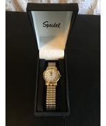 Speidel Classic Women's Bracelet Watch Gold Tone 60320432 - $28.95