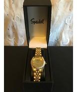 SPEIDEL WOMEN'S CLASSIC ANALOG BRACELET WATCH WITH DATE GOLD TONE 603201... - $24.92