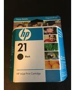 Genuine HP 21 C9351AN Black Ink Cartridge Ink Jet - $12.55