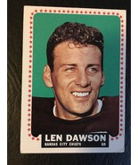 1964 TOPPS #96 LEN DAWSON FOOTBALL CARD KANSAS CITY CHIEFS SP - $24.09