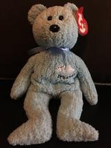 """TY BEANIE BABIES BABYBOY THE TEDDY BEAR 8.5""""  NEW WITH TAG - $7.38"""