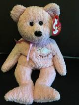 "TY BEANIE BABIES BABYGIRL THE TEDDY BEAR 8.5""  NEW WITH TAG - $7.38"