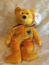 TY BEANIE BABIES PRINZ VON GOLD BEAR  NWT MINT 2001 - $7.80