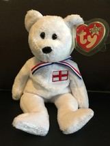 TY BEANIE BABIES ENGLAND THE BEAR UK EXCLUSIVE  NWT MINT - $8.75