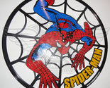 Vinyl wall clock spiderman thumb155 crop