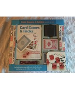CARD GAMES AND TRICKS BOOK AND KIT MUD PUDDLE BOOKS NEW SEALED - $13.50