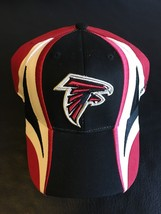 Reebok Atlanta Falcons Embroidered Cap Hat Adult One Size Red White Black *New* - $15.43