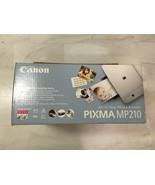 New Canon PIXMA MP210 All-In-One Photo Inkjet Color Printer Scanner Copi... - $111.21