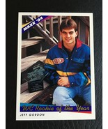 1994 JEFF GORDON MAXX RACING WC ROOKIE OF THE YEAR MINT - $4.95