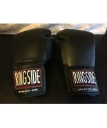 RINGSIDE SUPER BAG BOXING GLOVES MEDIUM BLACK *NEW* - $53.16
