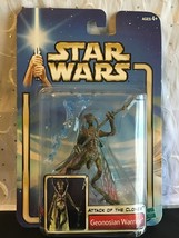 HASBRO STAR WARS ATOC GEONOSIAN WARRIOR ACTION FIGURE RARE 2002 NIP - $15.43