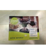 FOOD NETWORK Wine Aerator with Stand NEW IN BOX - $14.46