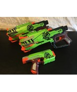 NERF LOT OF 3 (2) ZOMBIE STRIKE CROSSFIRE CROSSBOWS BLASTERS (1 ) SIDEST... - $48.33