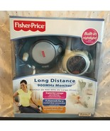 FISHER PRICE LONG DISTANCE 900MHz BABY MONITOR BUILT IN NIGHT LIGHT 4 CH... - $34.78