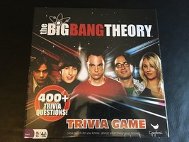 THE BIG BANG THEORY TRIVIA GAME 400+ Questions Cardinal *NEW SEALED* - $30.91