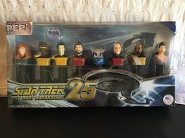 Star Trek 25TH Anniversary Pez Collector's Series Limited Edition Dispenser Set - $14.95