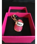 Juicy Couture Pink & White Tennis Visor Cap Charm  - $149.95