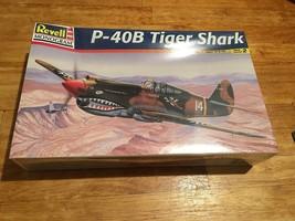 Revell 1/48 P-40B Tiger Shark Airplane Model Kit *New Sealed* - $21.24