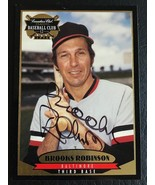 1996 CANADIAN CLUB CLASSIC BROOKS ROBINSON AUTO AUTOGRAPH ORIOLES WITH C... - $12.55