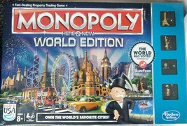 """Games for Kids Monopoly """"Here and Now"""" World Edition Board Game by Hasbr... - $28.66"""